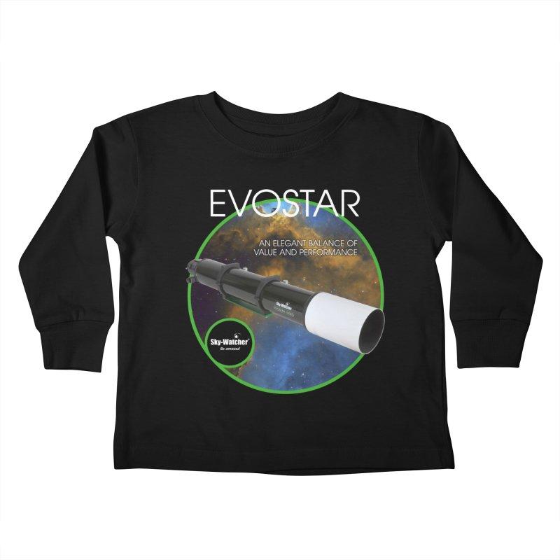 Product Series_Evostar doublets Kids Toddler Longsleeve T-Shirt by Sky-Watcher's Artist Shop