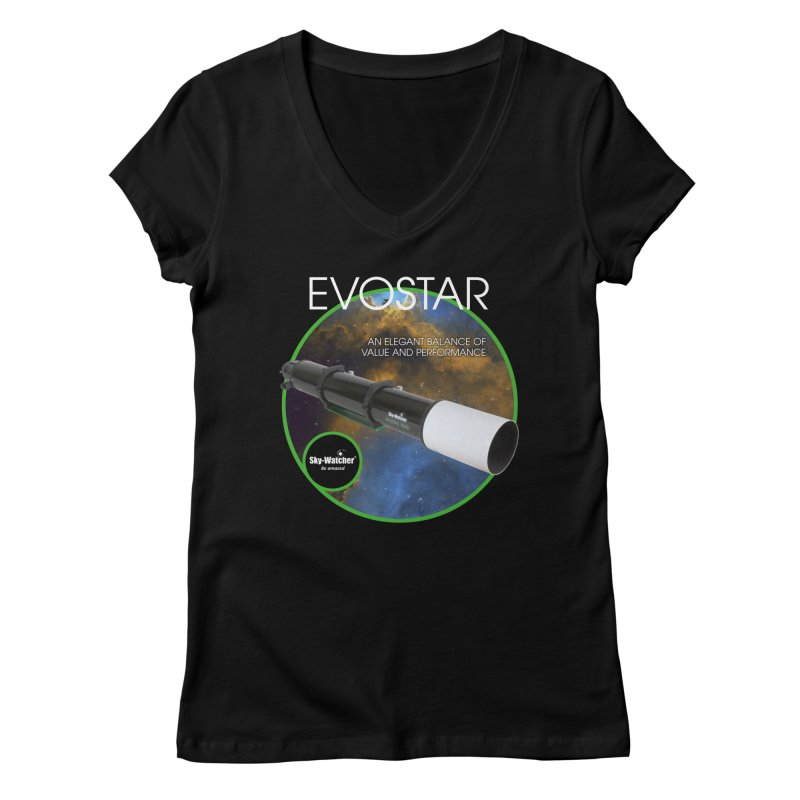 Product Series_Evostar doublets Women's V-Neck by Sky-Watcher's Artist Shop