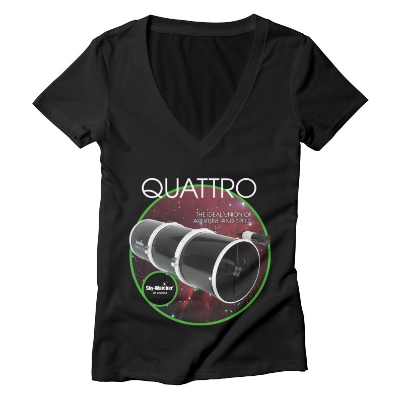 Product Series_Quattro Newtonians Women's V-Neck by Sky-Watcher's Artist Shop