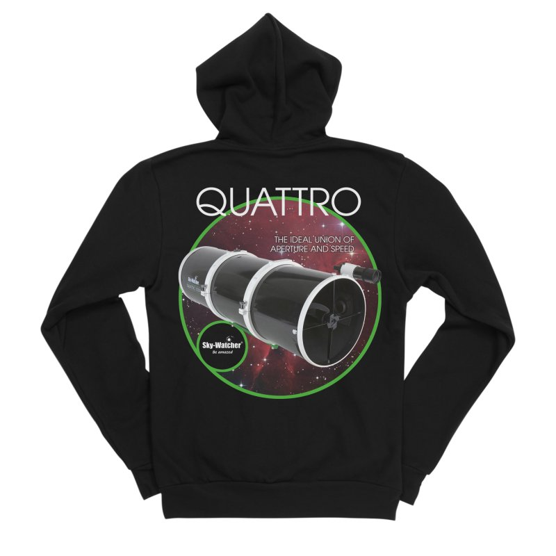 Product Series_Quattro Newtonians Women's Zip-Up Hoody by Sky-Watcher's Artist Shop