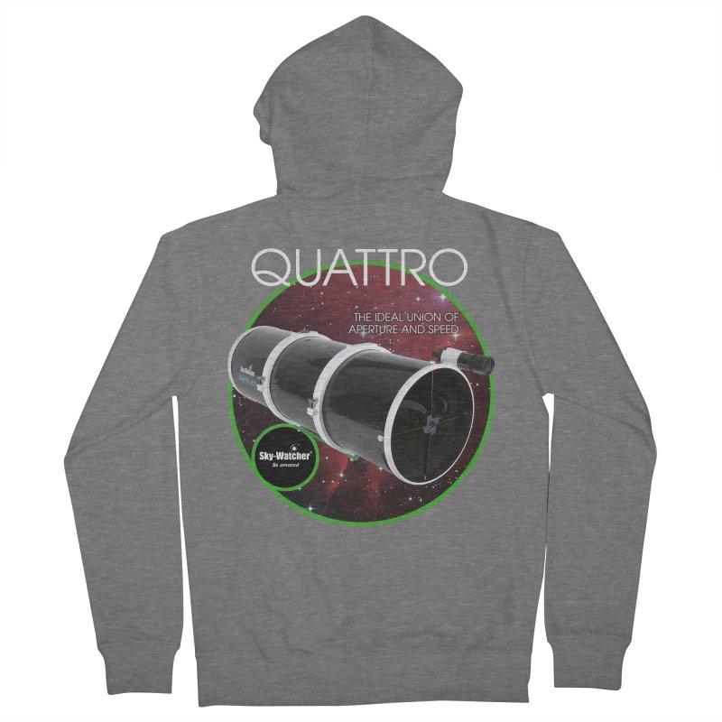Product Series_Quattro Newtonians Men's Zip-Up Hoody by Sky-Watcher's Artist Shop