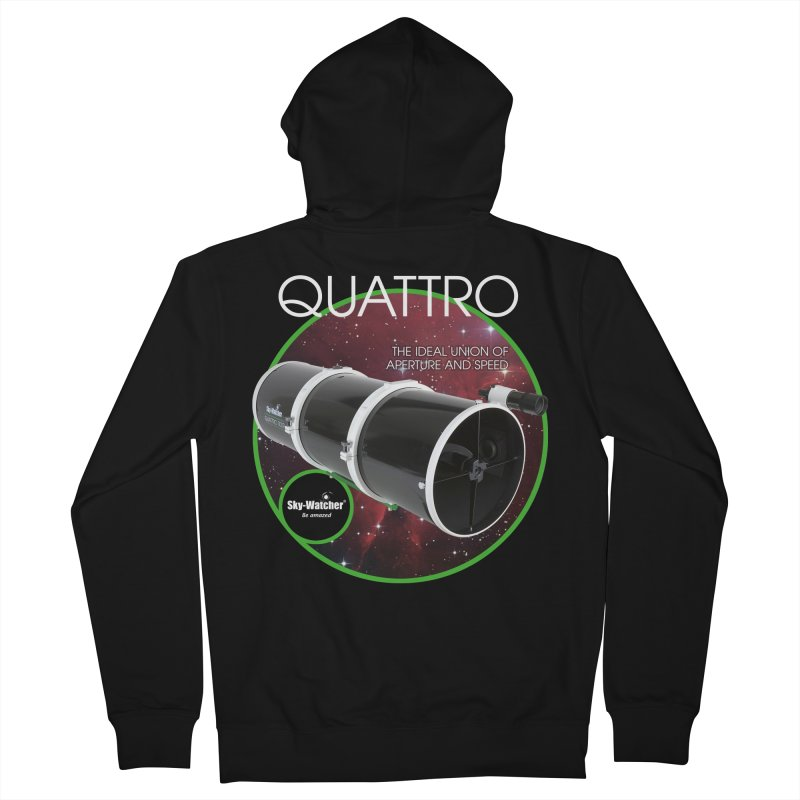 Product Series_Quattro Newtonians Men's Zip-Up Hoody by Sky-Watcher's Artist Shop