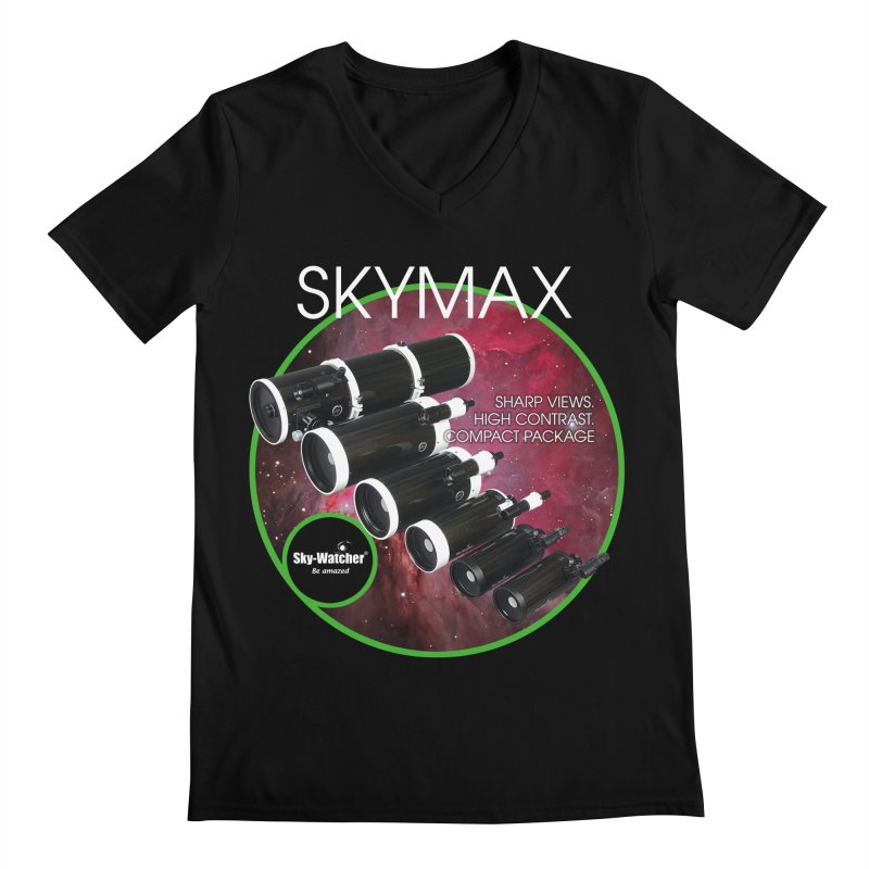 Product Series_Skymax Maksutov line Men's V-Neck by Sky-Watcher's Artist Shop