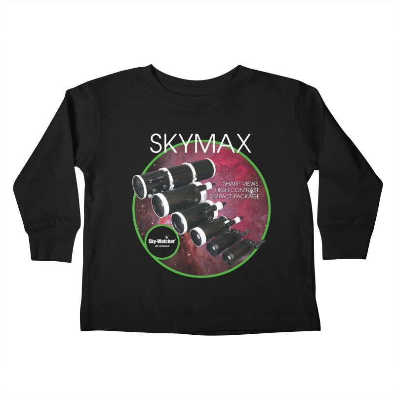 Product Series_Skymax Maksutov line Kids Toddler Longsleeve T-Shirt by Sky-Watcher's Artist Shop