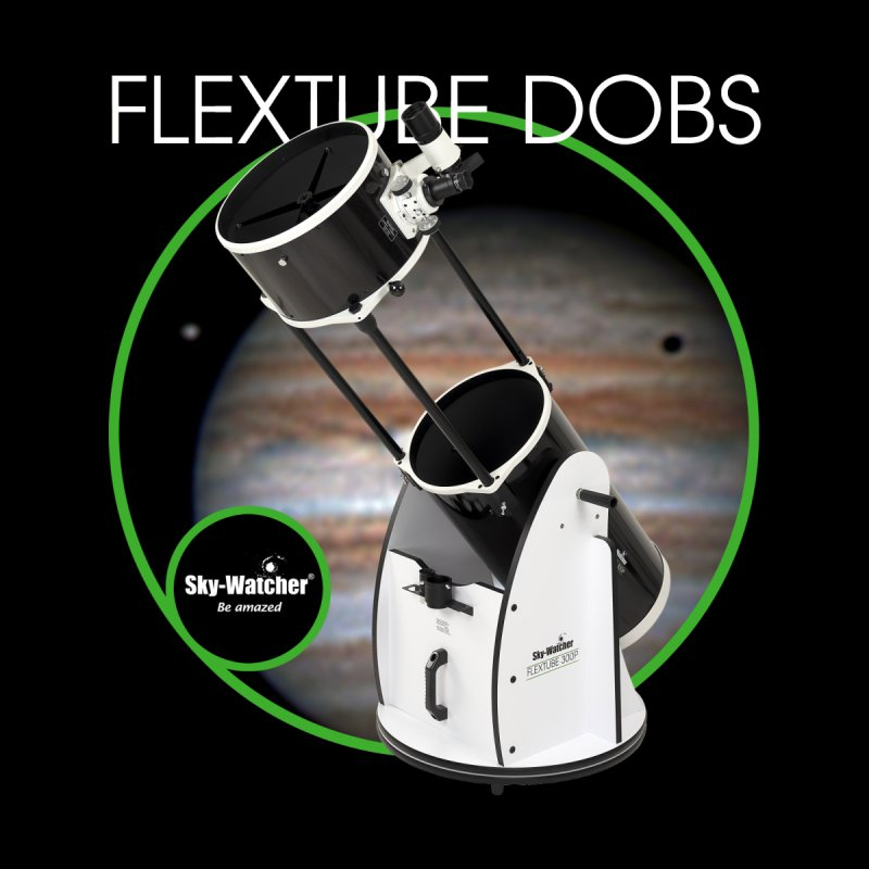 Product Series_Flextube Dobsonians Women's Scoop Neck by Sky-Watcher's Artist Shop