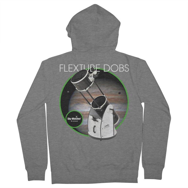 Product Series_Flextube Dobsonians Men's Zip-Up Hoody by Sky-Watcher's Artist Shop
