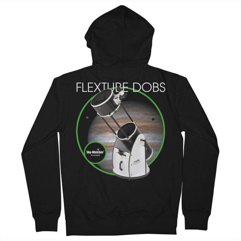 Product Series_Flextube Dobsonians Men's Zip-Up Hoody by Sky-Watcher's Artist Shop
