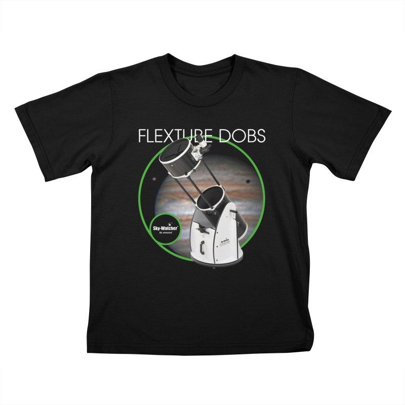 Product Series_Flextube Dobsonians Kids T-Shirt by Sky-Watcher's Artist Shop
