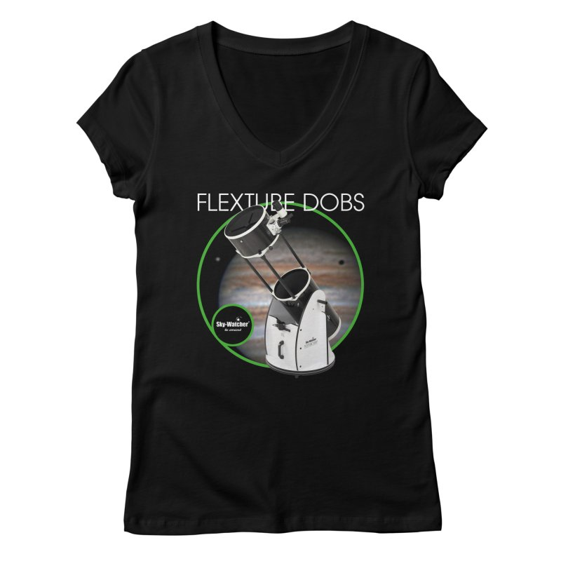 Product Series_Flextube Dobsonians Women's V-Neck by Sky-Watcher's Artist Shop