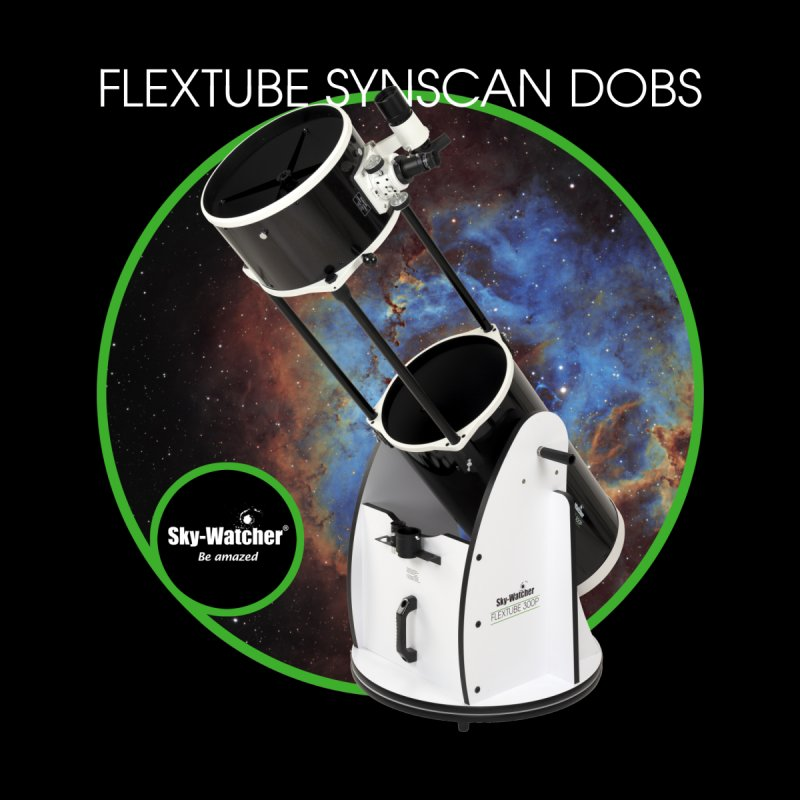 Product Series_Flextube SynScan Dobsonians Men's Zip-Up Hoody by Sky-Watcher's Artist Shop