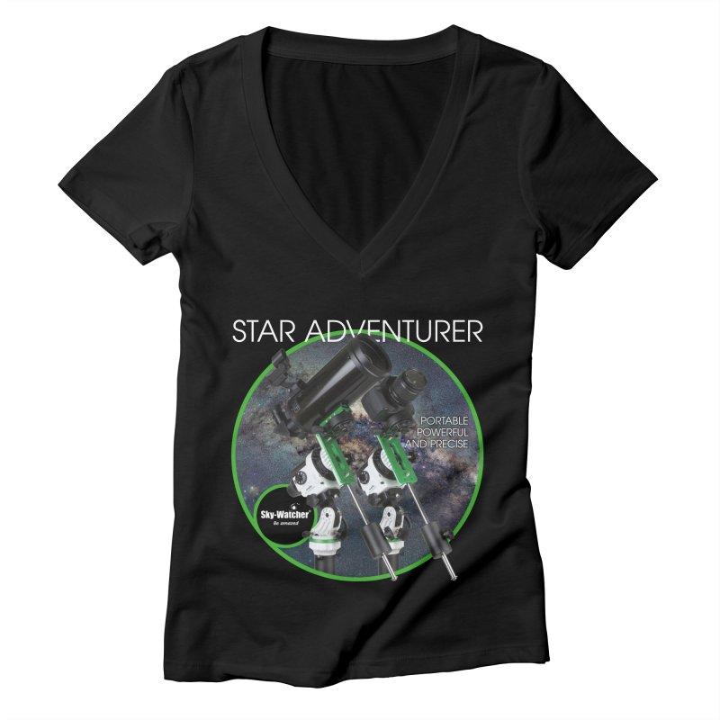 Product Series_Star Adventurer 2i Women's V-Neck by Sky-Watcher's Artist Shop
