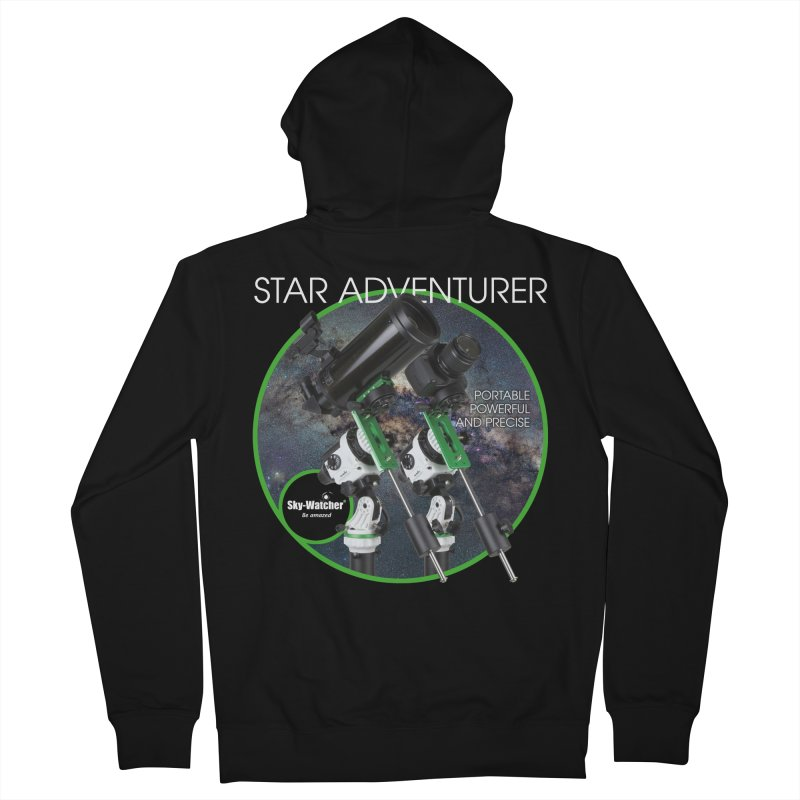 Product Series_Star Adventurer 2i Men's Zip-Up Hoody by Sky-Watcher's Artist Shop