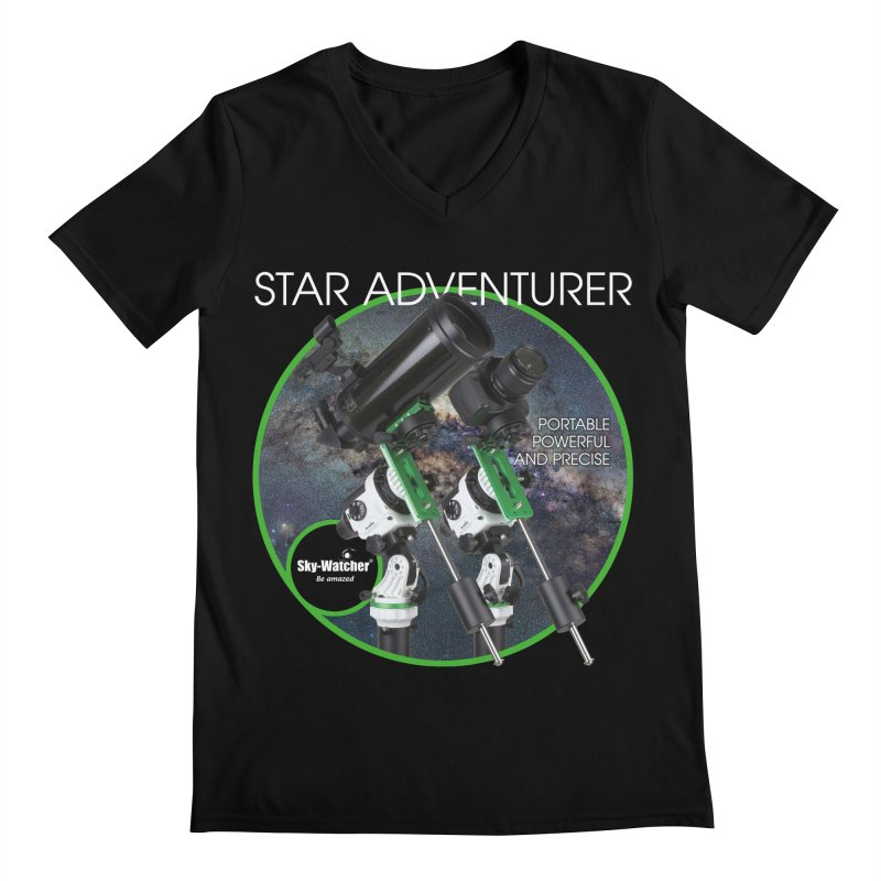 Product Series_Star Adventurer 2i Men's V-Neck by Sky-Watcher's Artist Shop