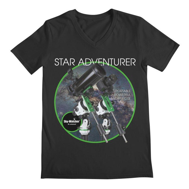 Product Series_Star Adventurer 2i Men's V-Neck by Sky-Watcher's Artist Shop