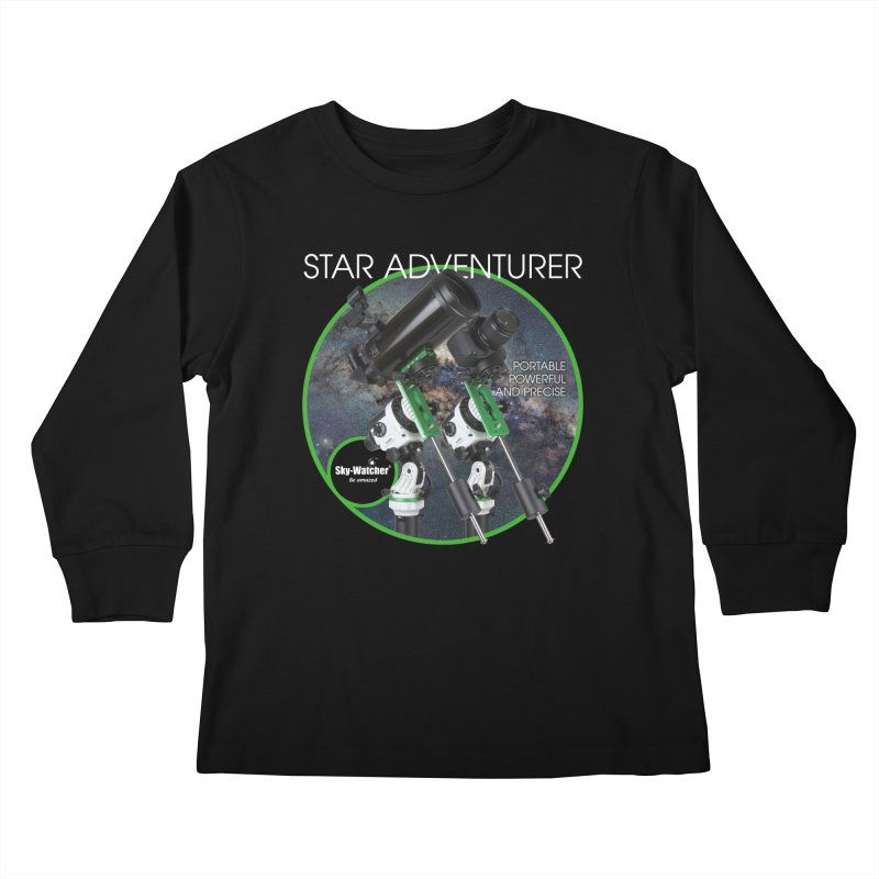 Product Series_Star Adventurer 2i Kids Longsleeve T-Shirt by Sky-Watcher's Artist Shop