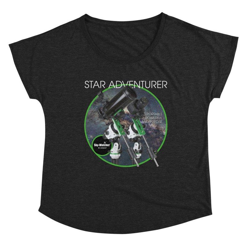 Product Series_Star Adventurer 2i Women's Scoop Neck by Sky-Watcher's Artist Shop