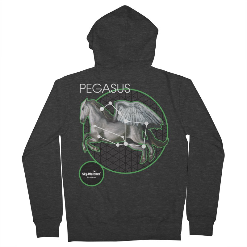 Roman Constellations_Pegasus Women's Zip-Up Hoody by Sky-Watcher's Artist Shop