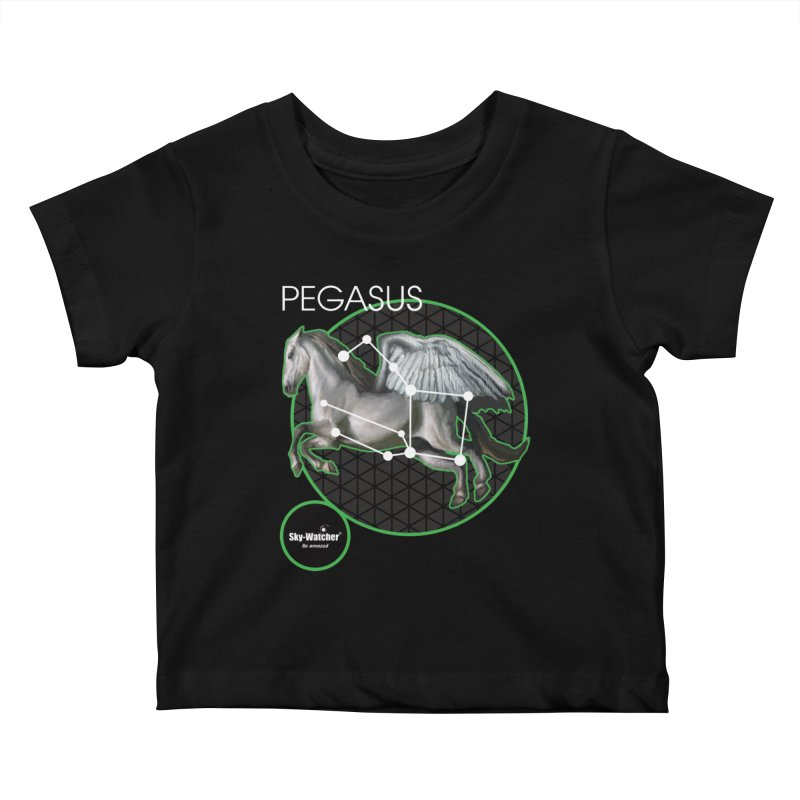 Roman Constellations_Pegasus Kids Baby T-Shirt by Sky-Watcher's Artist Shop