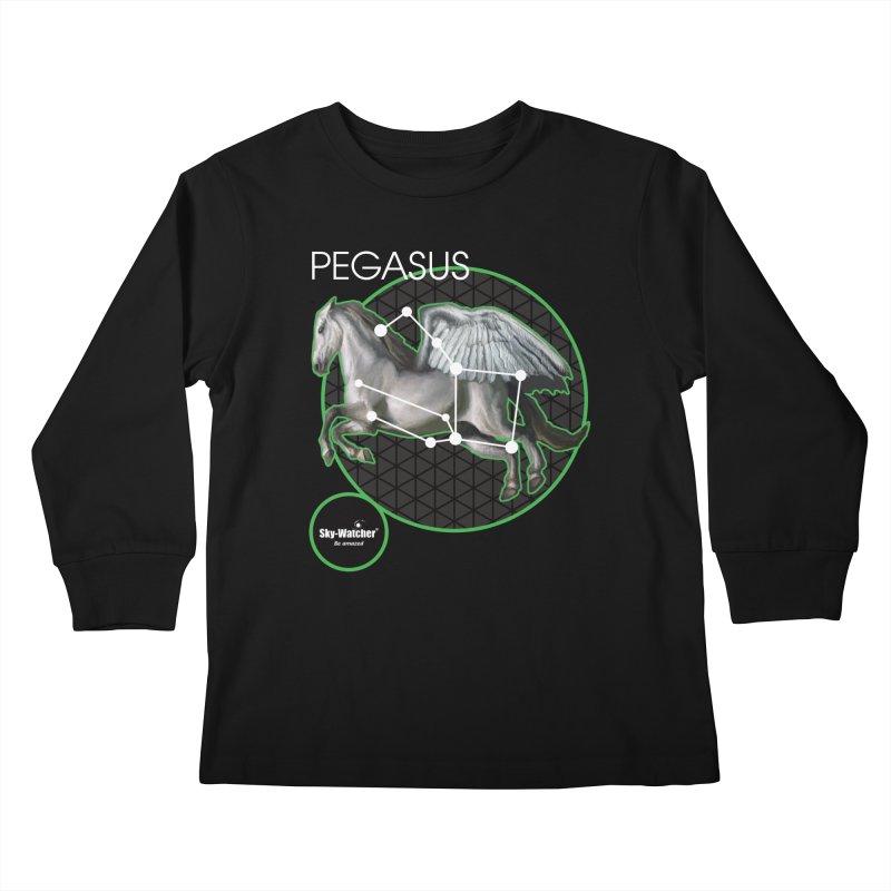 Roman Constellations_Pegasus Kids Longsleeve T-Shirt by Sky-Watcher's Artist Shop