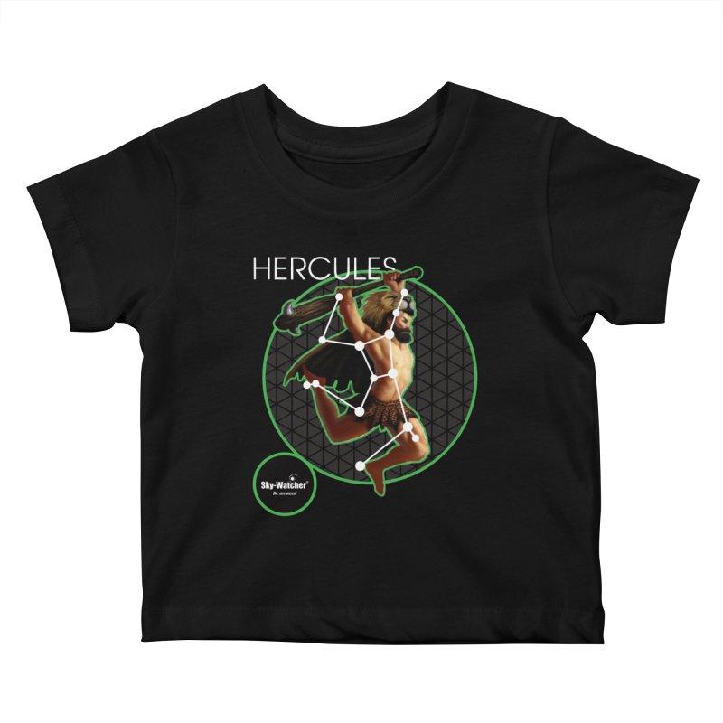 Roman Constellations_Hercules Kids Baby T-Shirt by Sky-Watcher's Artist Shop