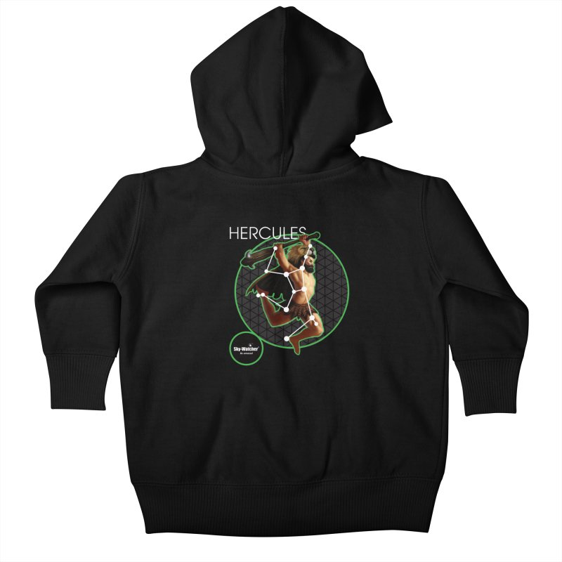 Roman Constellations_Hercules Kids Baby Zip-Up Hoody by Sky-Watcher's Artist Shop