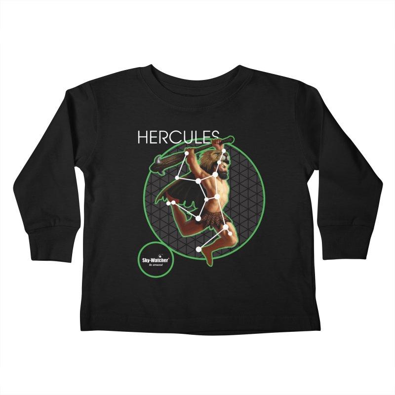 Roman Constellations_Hercules Kids Toddler Longsleeve T-Shirt by Sky-Watcher's Artist Shop