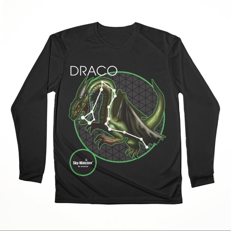 Roman Constellations_Draco Women's Longsleeve T-Shirt by Sky-Watcher's Artist Shop