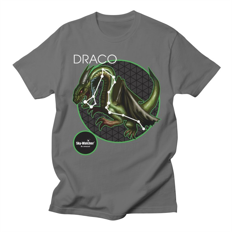Roman Constellations_Draco Men's T-Shirt by Sky-Watcher's Artist Shop