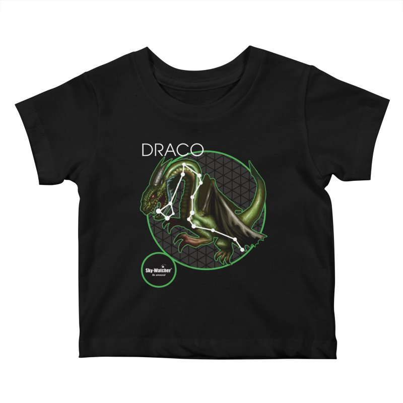 Roman Constellations_Draco Kids Baby T-Shirt by Sky-Watcher's Artist Shop