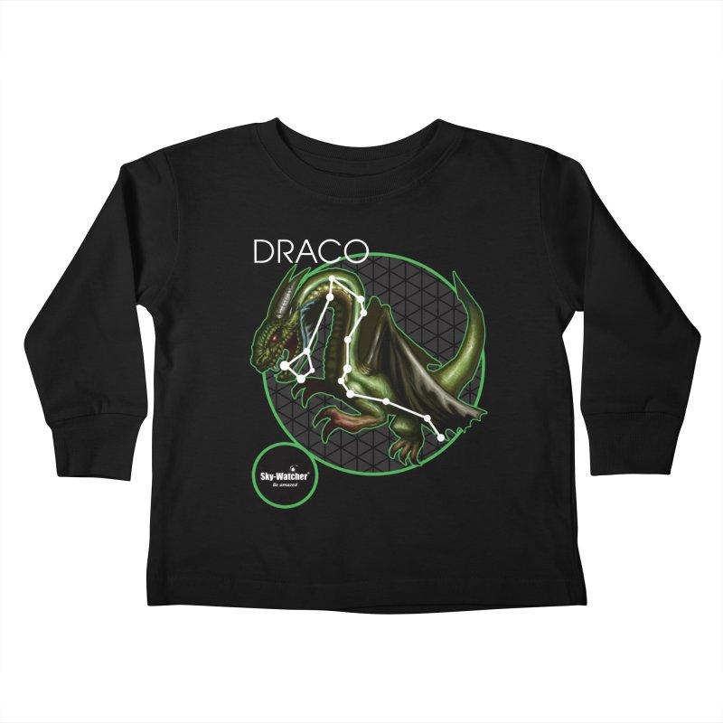 Roman Constellations_Draco Kids Toddler Longsleeve T-Shirt by Sky-Watcher's Artist Shop
