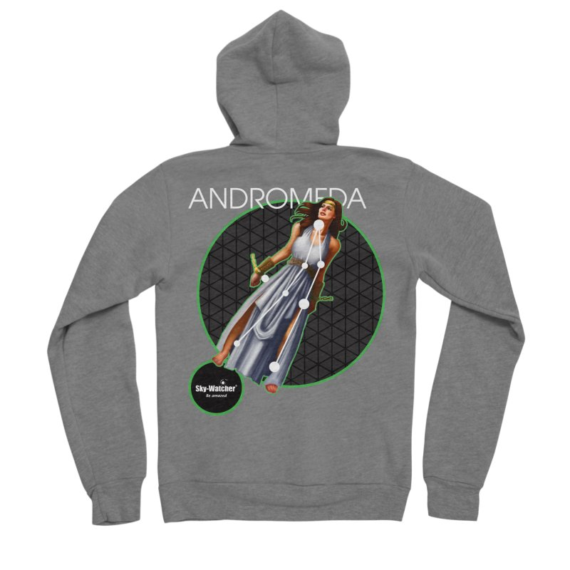 Roman Constellations_Andromeda Women's Zip-Up Hoody by Sky-Watcher's Artist Shop