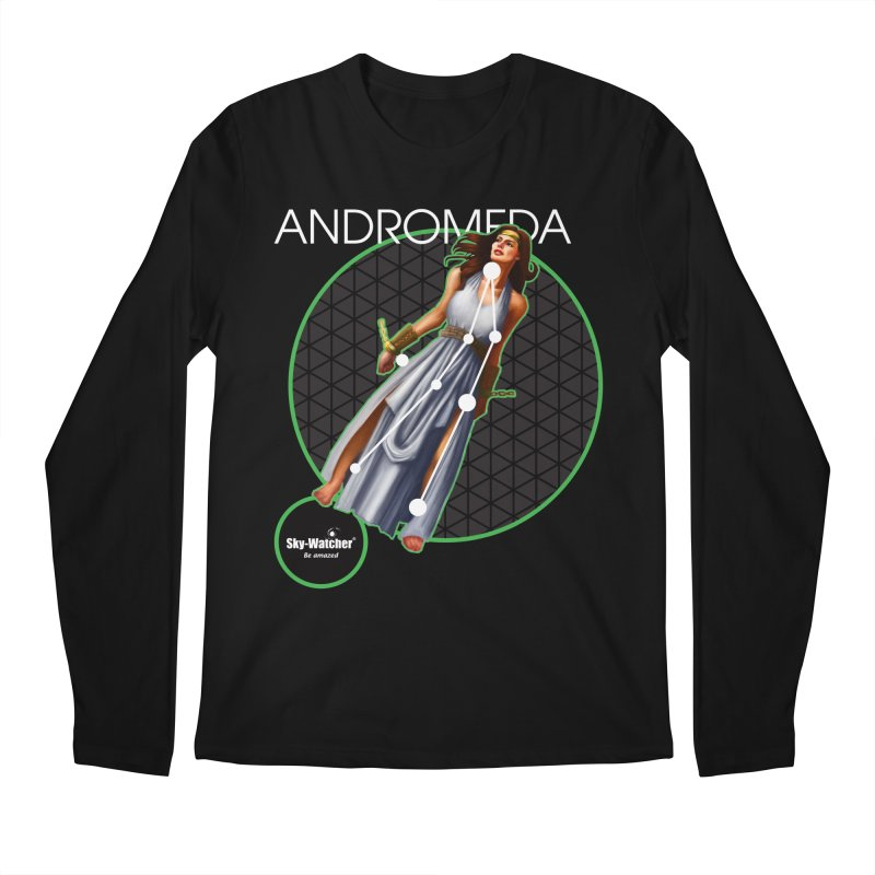 Roman Constellations_Andromeda Men's Longsleeve T-Shirt by Sky-Watcher's Artist Shop