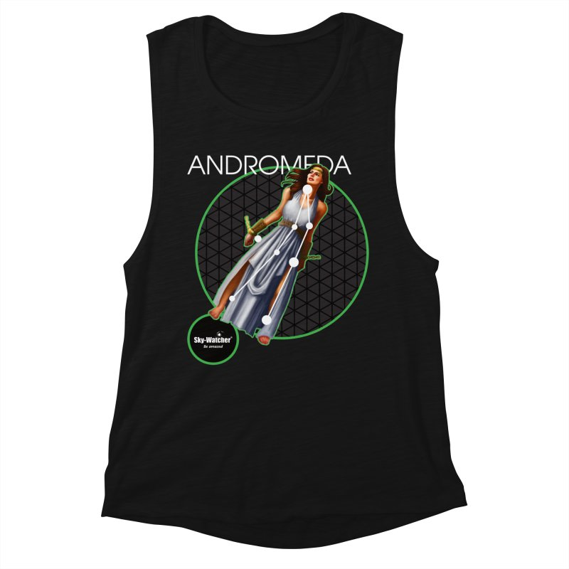 Roman Constellations_Andromeda Women's Tank by Sky-Watcher's Artist Shop
