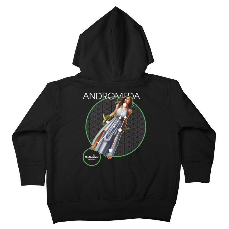 Roman Constellations_Andromeda Kids Toddler Zip-Up Hoody by Sky-Watcher's Artist Shop