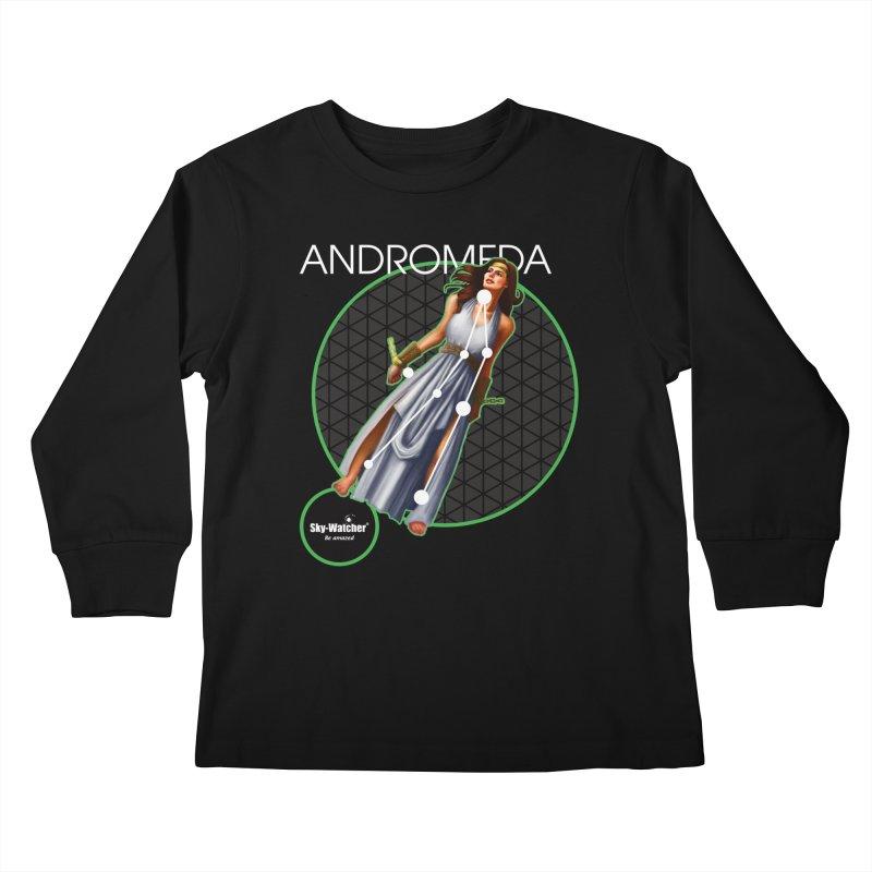 Roman Constellations_Andromeda Kids Longsleeve T-Shirt by Sky-Watcher's Artist Shop