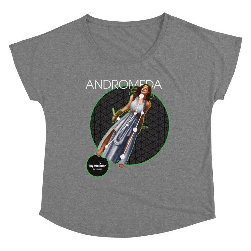 Roman Constellations_Andromeda Women's Scoop Neck by Sky-Watcher's Artist Shop
