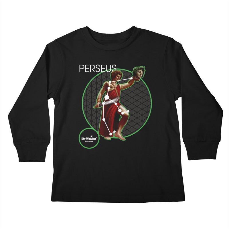 Roman Constellations_Perseus Kids Longsleeve T-Shirt by Sky-Watcher's Artist Shop