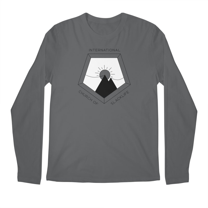 Classic Logo Men's Regular Longsleeve T-Shirt by Slack Shop