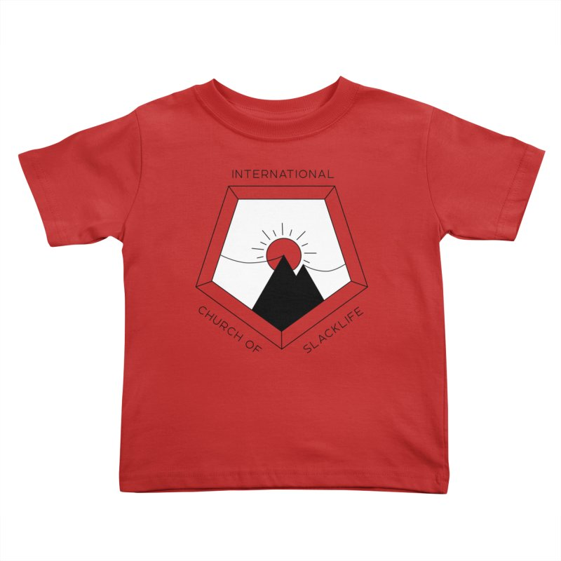 Classic Logo Kids Toddler T-Shirt by Slack Shop