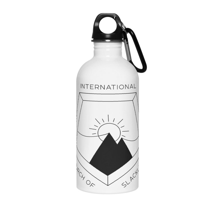 Classic Logo Accessories Water Bottle by Slack Shop