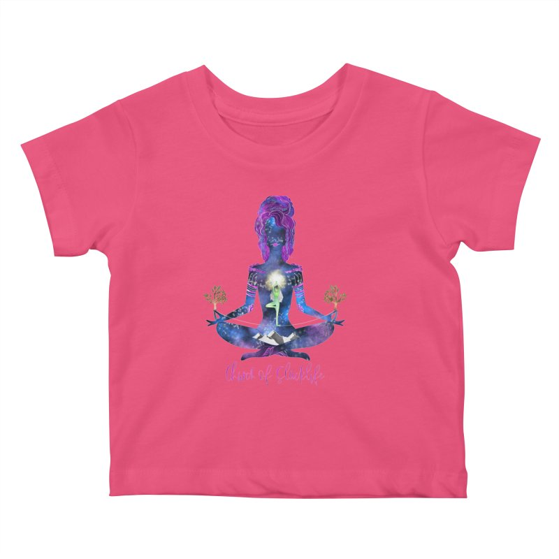 Goddess Logo Kids Baby T-Shirt by Slack Shop