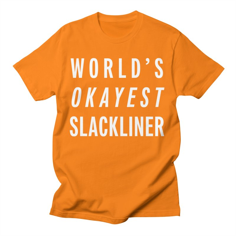 World's Okayest Slackliner Men's T-Shirt by Slack Shop