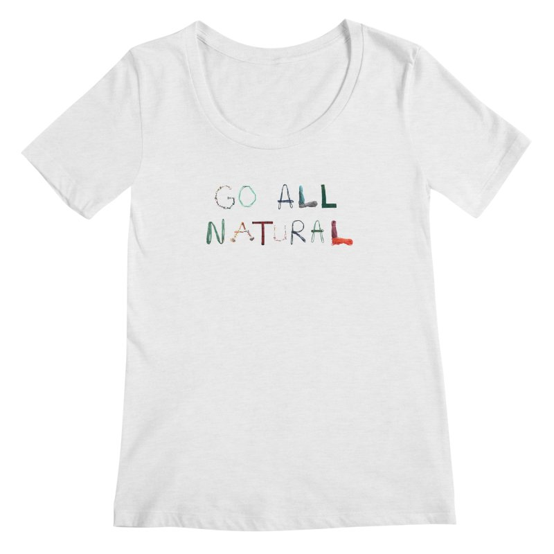 Go All Natural Women's Regular Scoop Neck by Slack Shop
