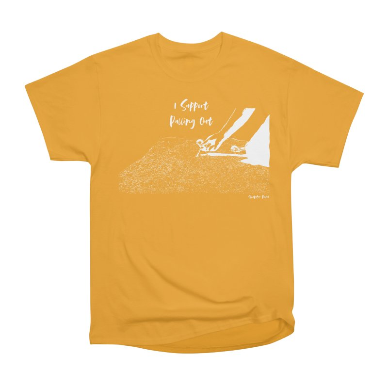 I Support Pulling Out Men's Heavyweight T-Shirt by Slack Shop