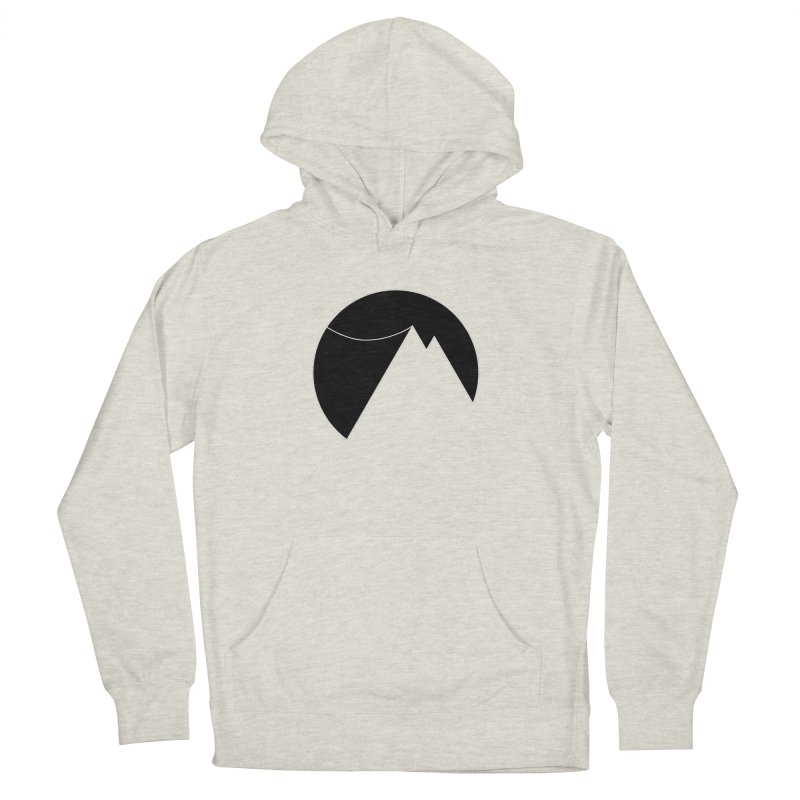 Slacklife Logo Black Women's French Terry Pullover Hoody by Slack Shop
