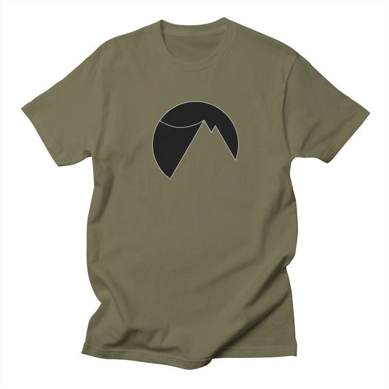 Slacklife Logo Black Men's Regular T-Shirt by Slack Shop