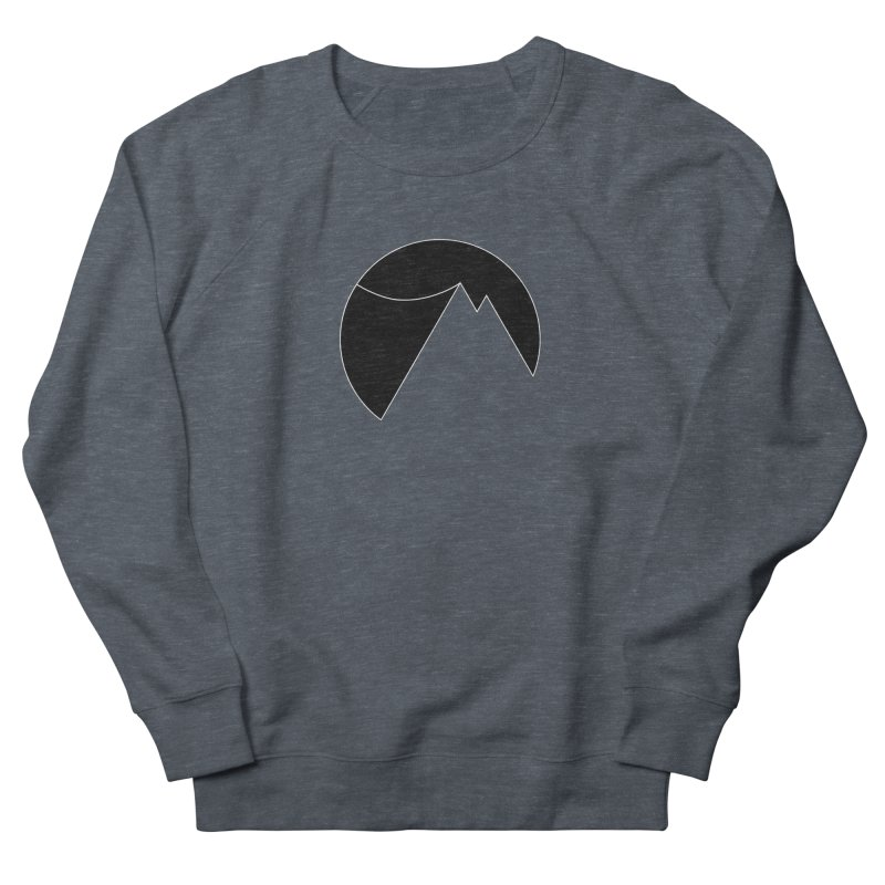 Slacklife Logo Black Women's French Terry Sweatshirt by Slack Shop