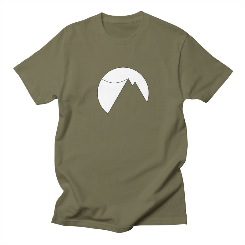 Slacklife Logo White Men's T-Shirt by Slack Shop