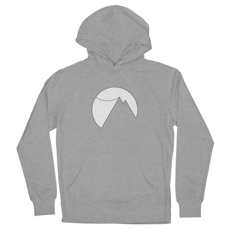 Slacklife Logo White Men's French Terry Pullover Hoody by Slack Shop