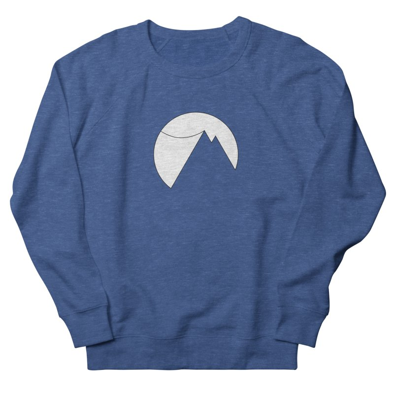 Slacklife Logo White Men's French Terry Sweatshirt by Slack Shop